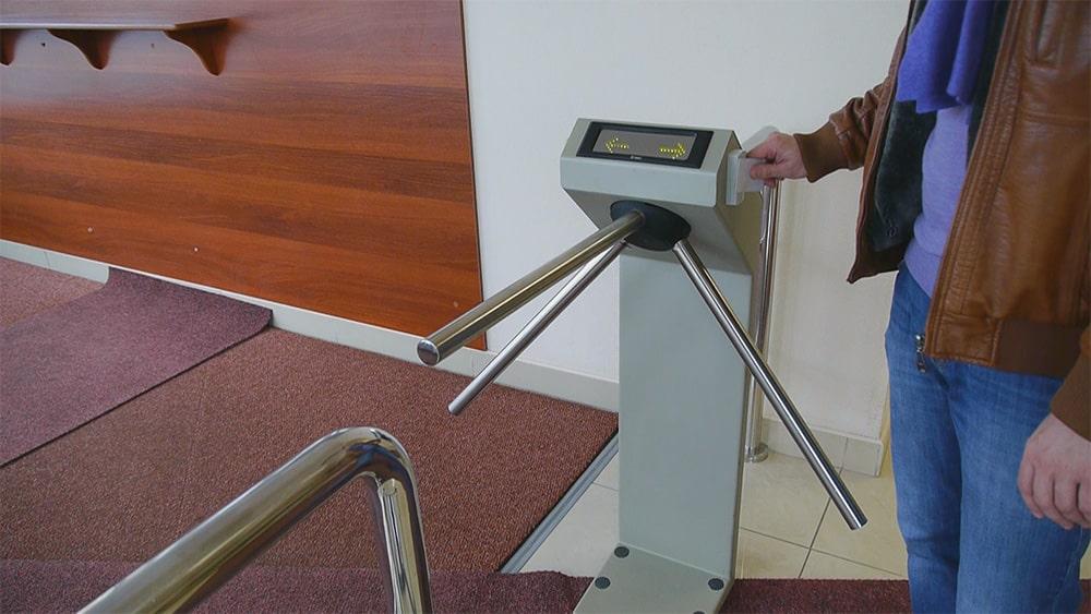 техническое обслуживание систем контроля доступа