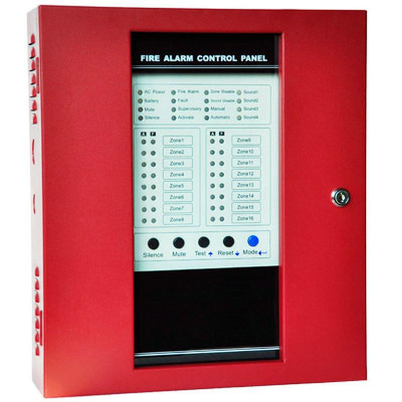 Free-DHL-shipping-Fire-Alarm-Control-Panel-8-Wire-Zones-Security-Protection-Easy-Installation-English-manual