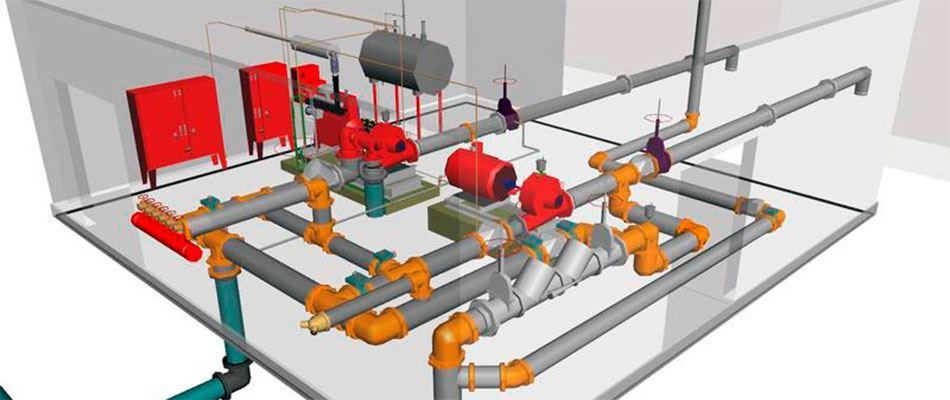 Проектирование противопожарного водопровода