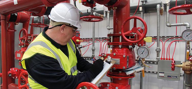 Техническое обслуживание противопожарного водопровода