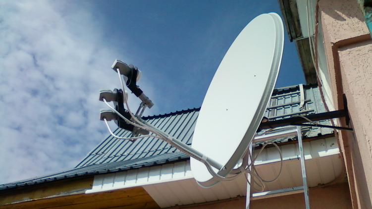 Монтаж систем коллективного приема телевидения