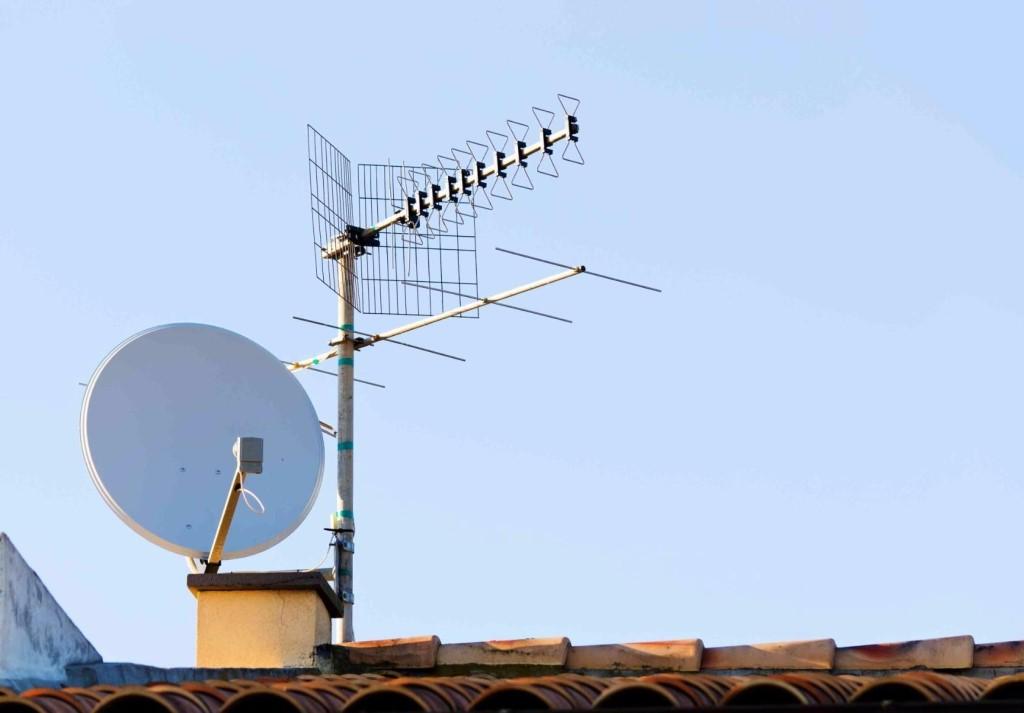 обслуживание телевизионной антенны