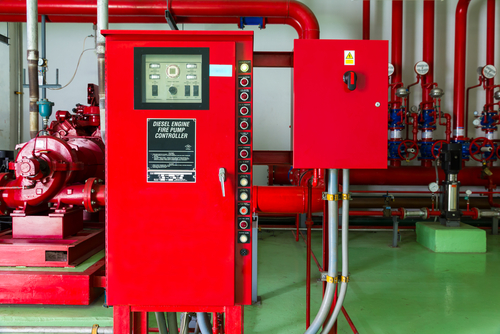 Техническое обслуживание установок пожаротушения